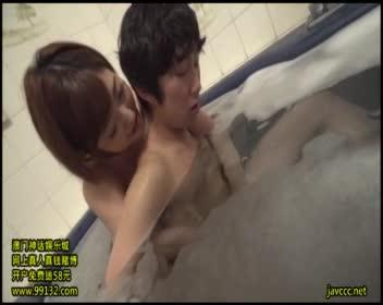 美巨乳お義姉さんの誘惑 お風呂で手コキパイズリ!水野朝陽