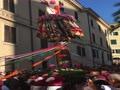 Viandantiの燭台のパフォーマンス