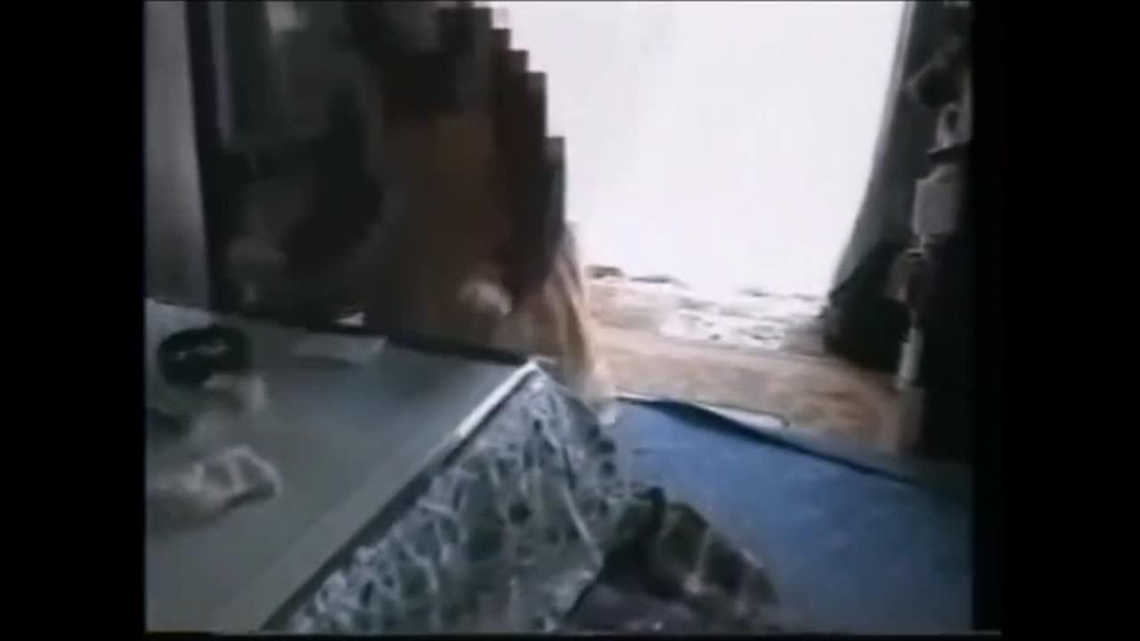 【個人撮影】捨てられたホームビデオに映っていた一般家庭の生々しい夫婦の営み映像